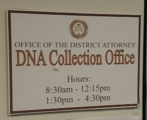 Art 272 - Dna Collection Office Sign