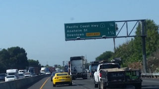 Art 280 - Cars On The 710 Fwy