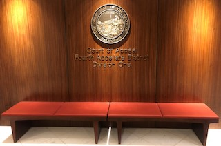 Fourth Appellate District Court of Appeal Division 1 San Diego