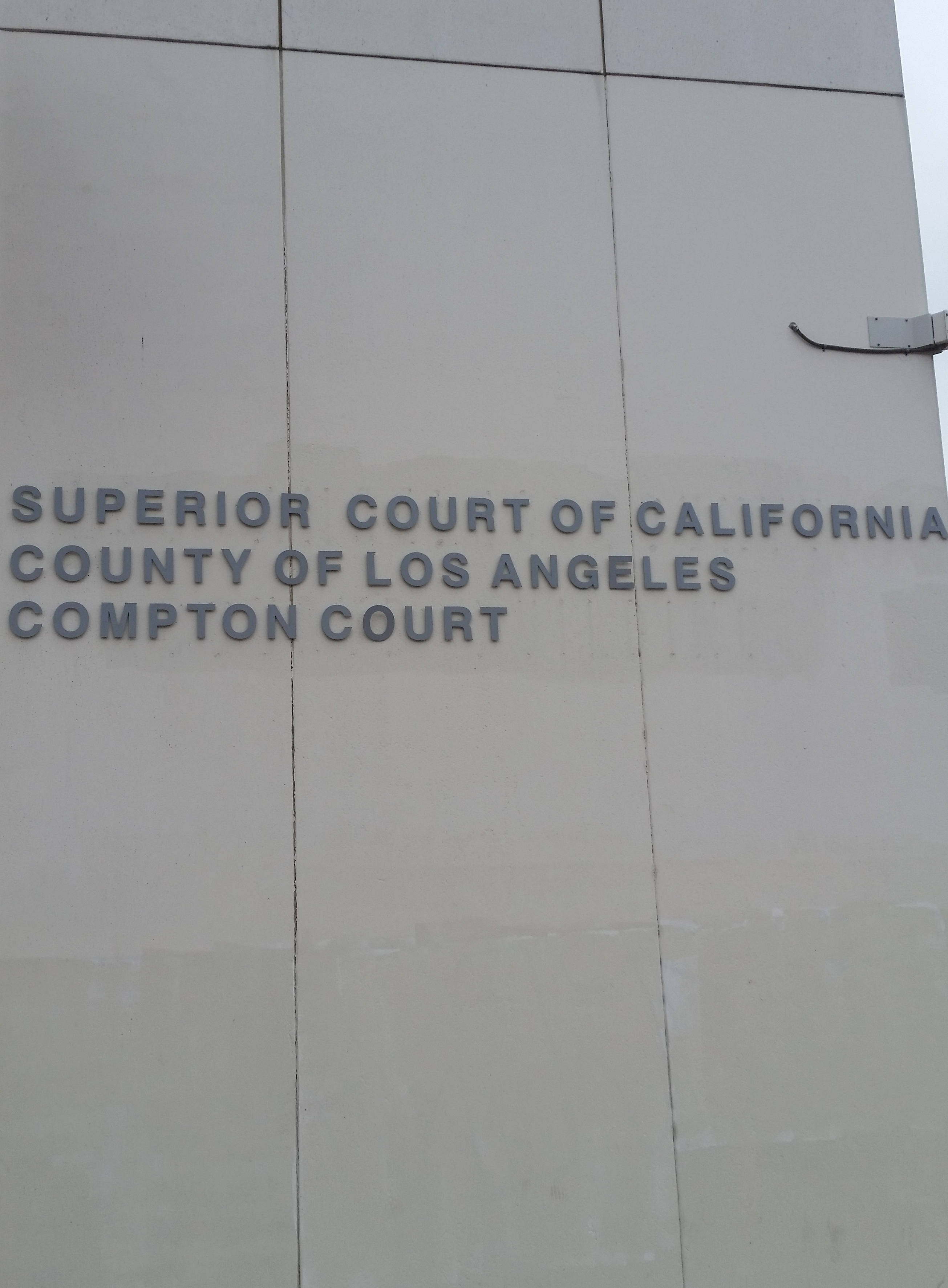 Compton Courthouse DUI Results