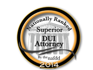 NAFDD Superior DUI Attorney 2014