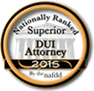 NAFDD Superior DUI Attorney 2015